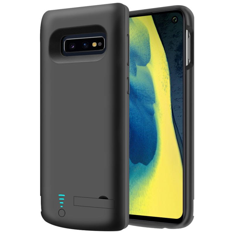 RUNSY Battery Case for Samsung Galaxy S10e, 5000mAh Rechargeable Extended Battery Charging Case, External Battery Charger Case, Adds 1.2x Extra Juice (5.8 inch for Galaxy S10e)