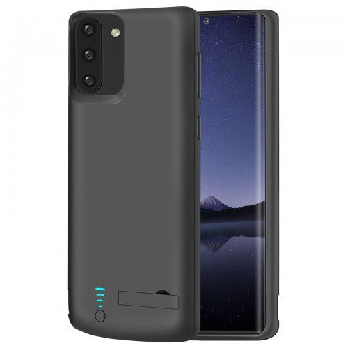 RUNSY Battery Case for Samsung Galaxy Note 10, 5000mAh Rechargeable Extended Battery Charging Case, External Battery Charger Case, Add 100% Extra Juice